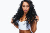 Curly Virgin Indian Hair Extensions Samples