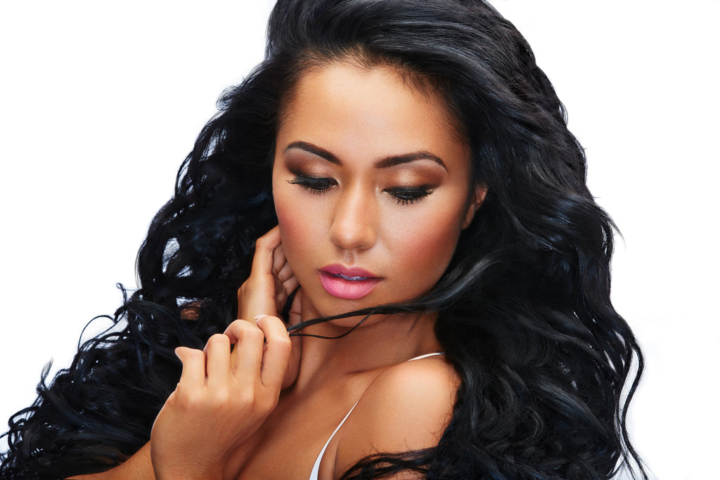 Curly Virgin Indian Hair Extensions