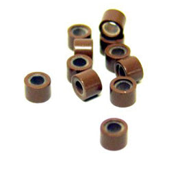 Silicone Lined Copper Beads (250pcs)