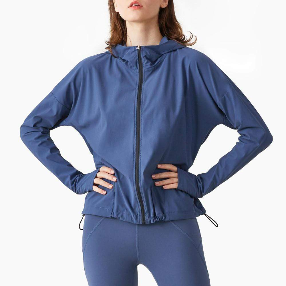 Loose Quick-Dry Yoga Jacket
