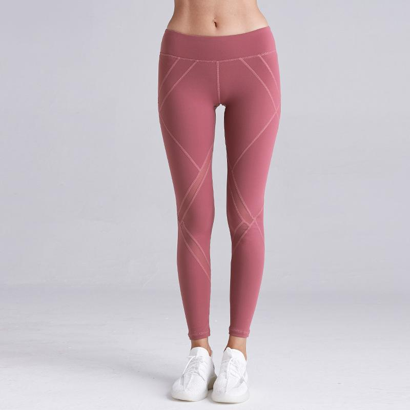 Naked Lift Hips High Waist Tight Elastic Fitness Yoga Legging