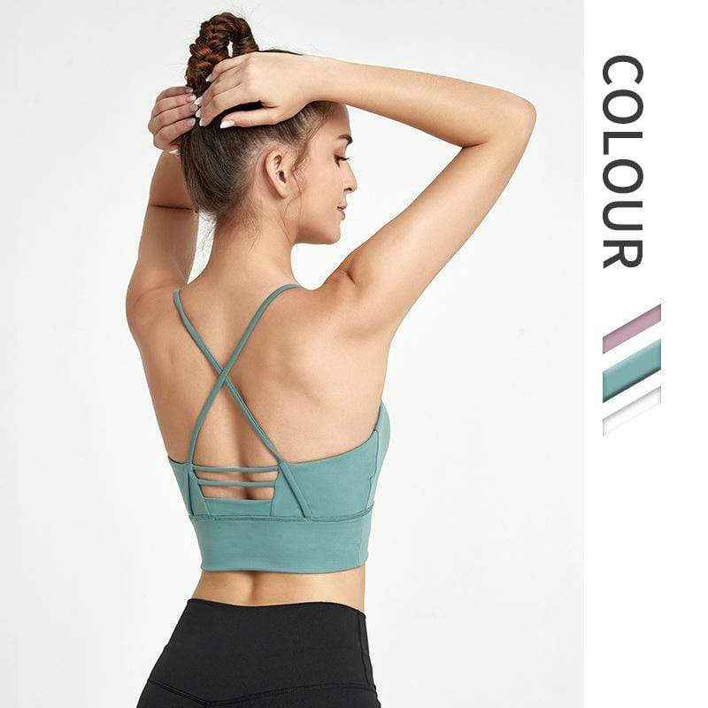 Sexy Skinny Yoga Vest with Beautiful Back