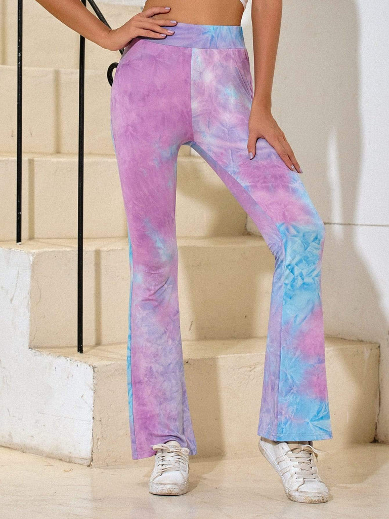 Ins Wind Tie-dye Leisure Yoga Sweatpants