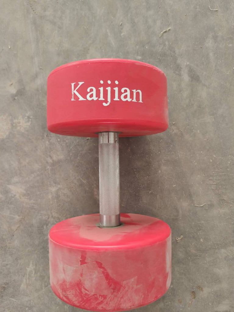 Kaijian Rubber Encased Dumbbell in Pairs or Singles