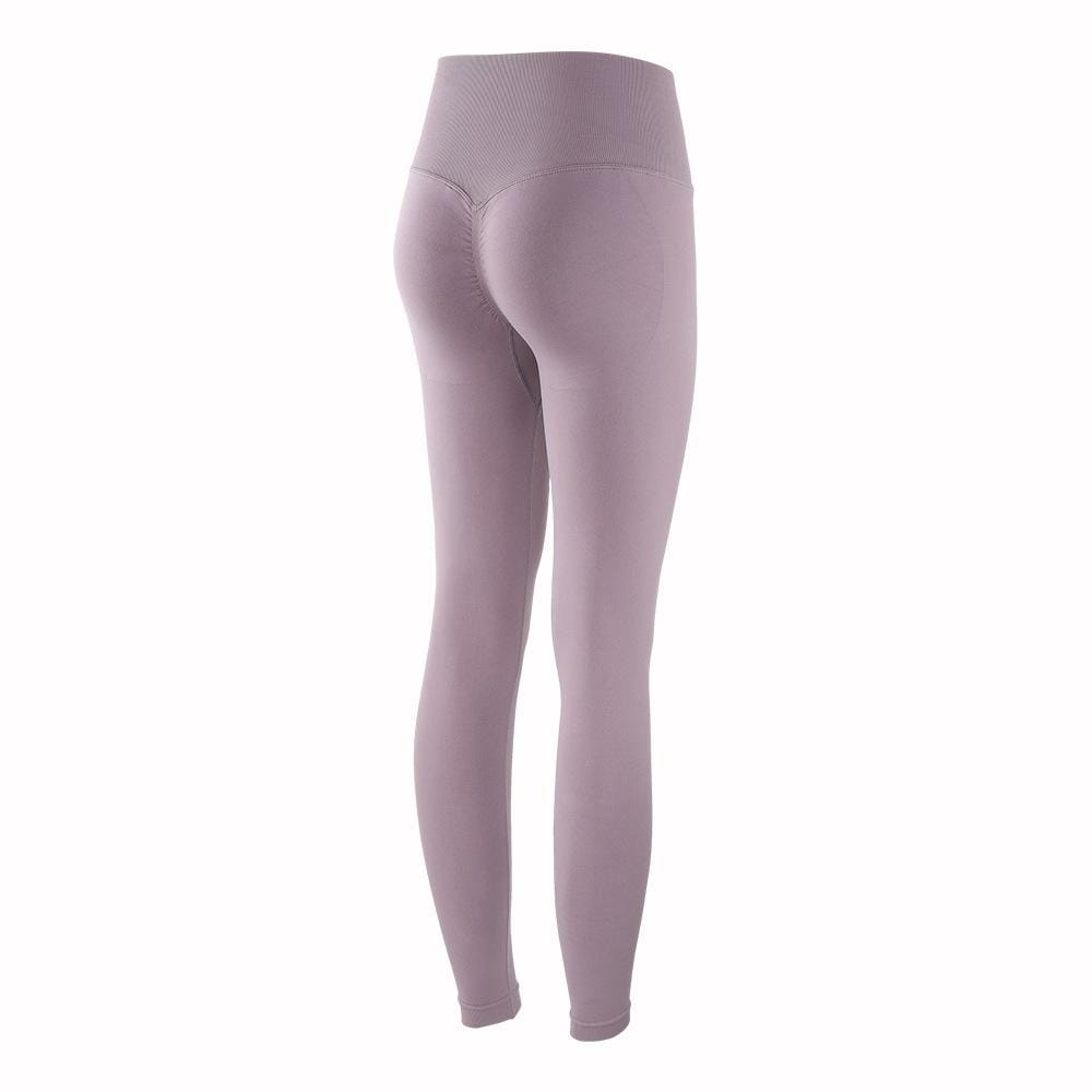 Peach Bodybuilding High Waist Sports Legging