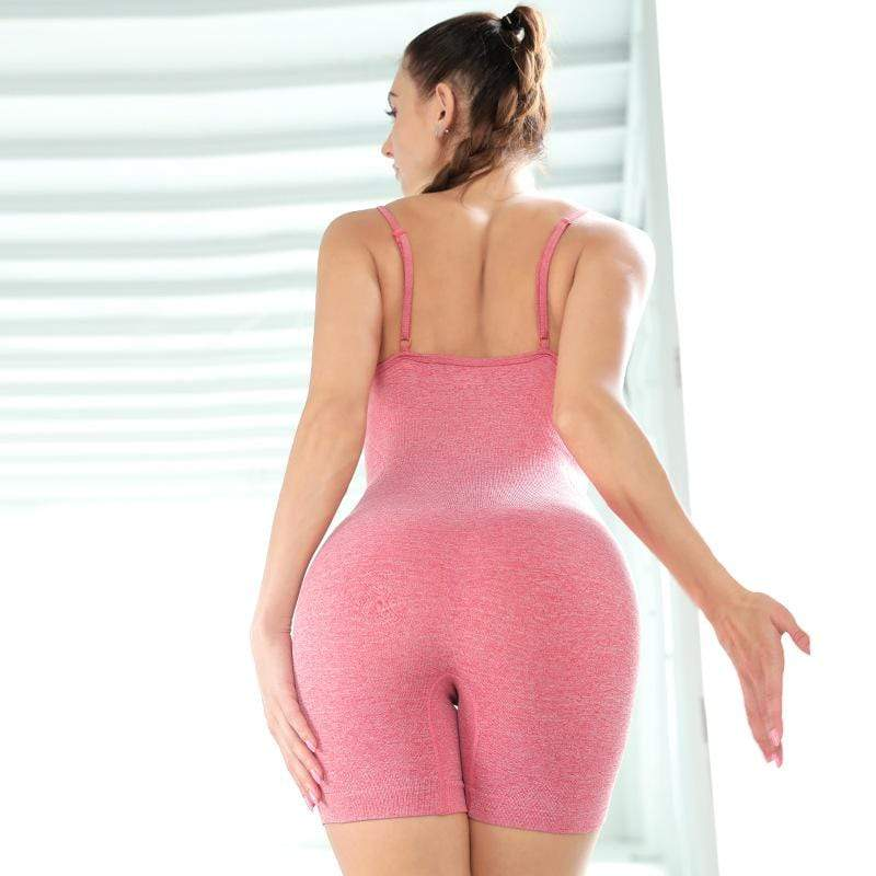 Breathable Elastic Seamless Yoga Jumpsuit