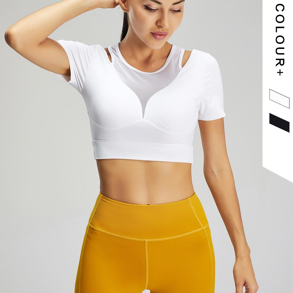 Sexy Stretch Fitness Exercise Yoga Shirt