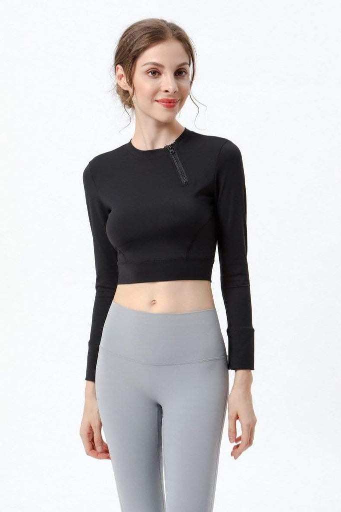 Casual Stylish Yoga Long Sleeve