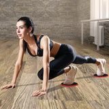 Calliven: Core Exercise Sliders Fitness Workout Sliding Discs,Total Body Gym Exercise Equipment For Home,Travel