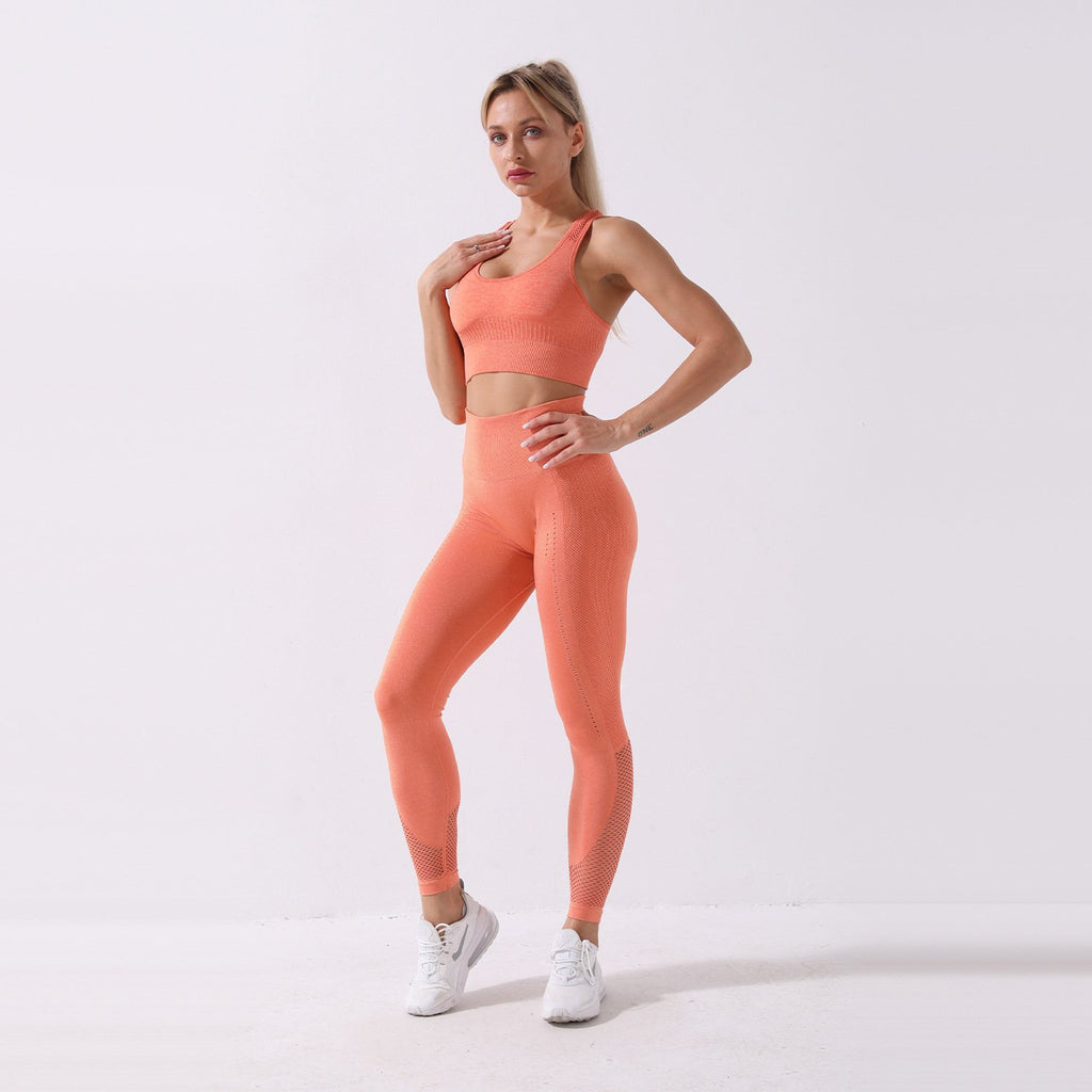 Yoga Tank High Waist Sports Suit