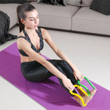 Calliven: Yoga Ring Pilates Training Ring for Back and Leg Pain Home Workouts Gym for Stretches and Strengthen Chest Thighs Arms Core