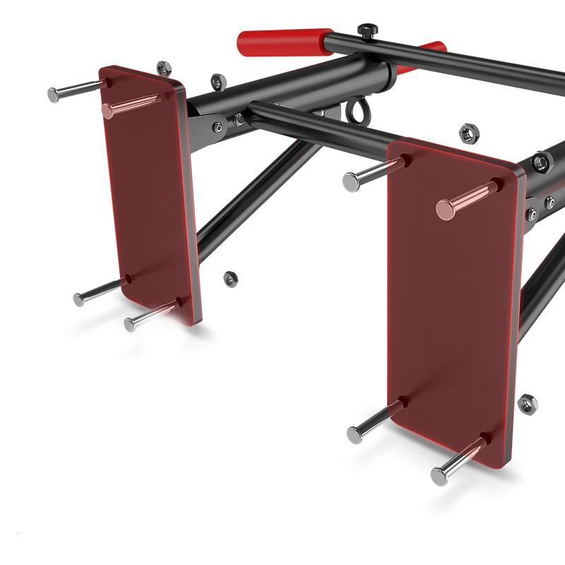 Indoor Wall Pull-Ups, Single Parallel Bars, Single-Bar Parallel Bars