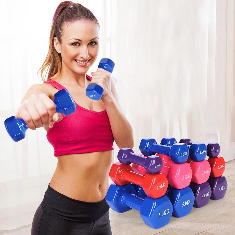 A Pair Of Arms Shaping Household Weight Loss Dumbbells