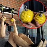 Climbing training hand grip ball exercise arm