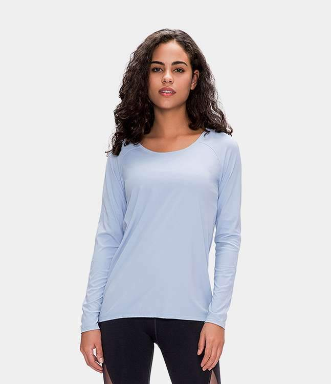 Breathable Long Sleeve Sports Top