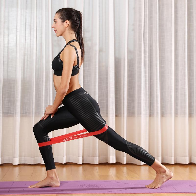 Calliven: Exercise Resistance Bands For Legs And Butt,Hip Circle Loop Sliders Fitness Thigh Glute Bands Set For Women