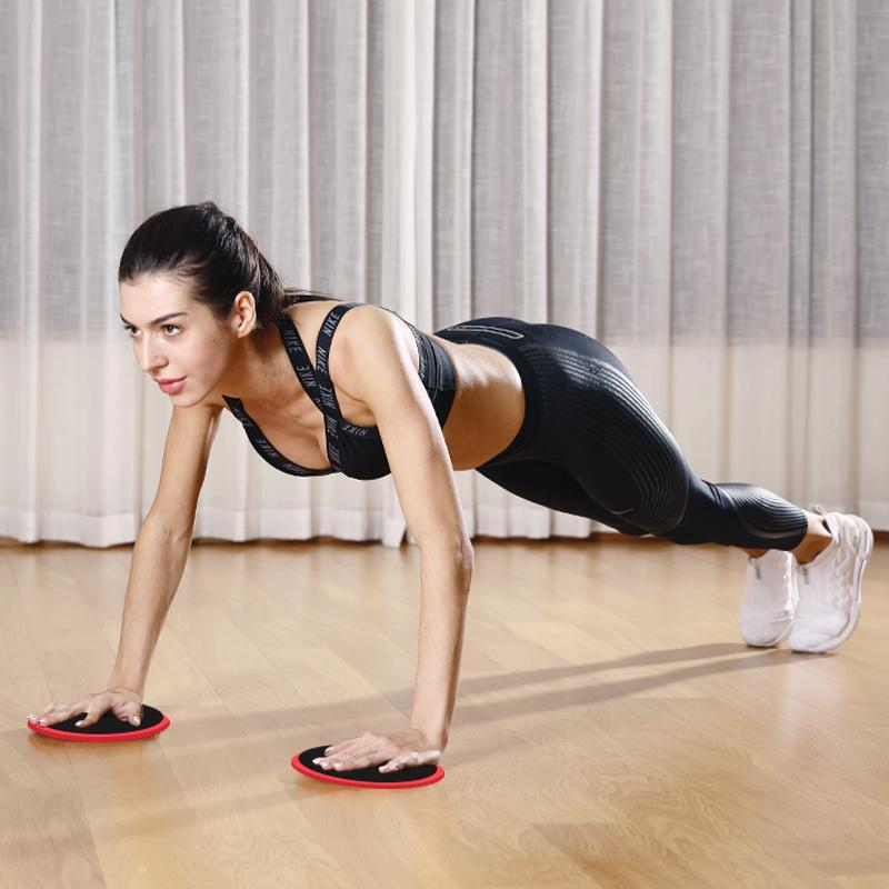Calliven: Sliders Fitness Workout Sliding Discs,Total Body Exercise For Home,Travel