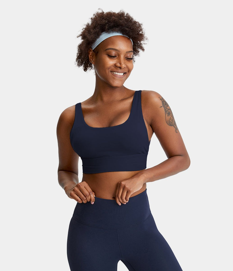 U-Neck Tank Low Support Sports Bra