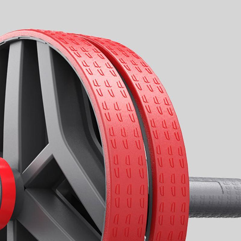 FEIERDUN: Ab Wheel Roller For Ab Workout-Ab Workout Equipment For Core Training And Abdominal Exercise(Red)