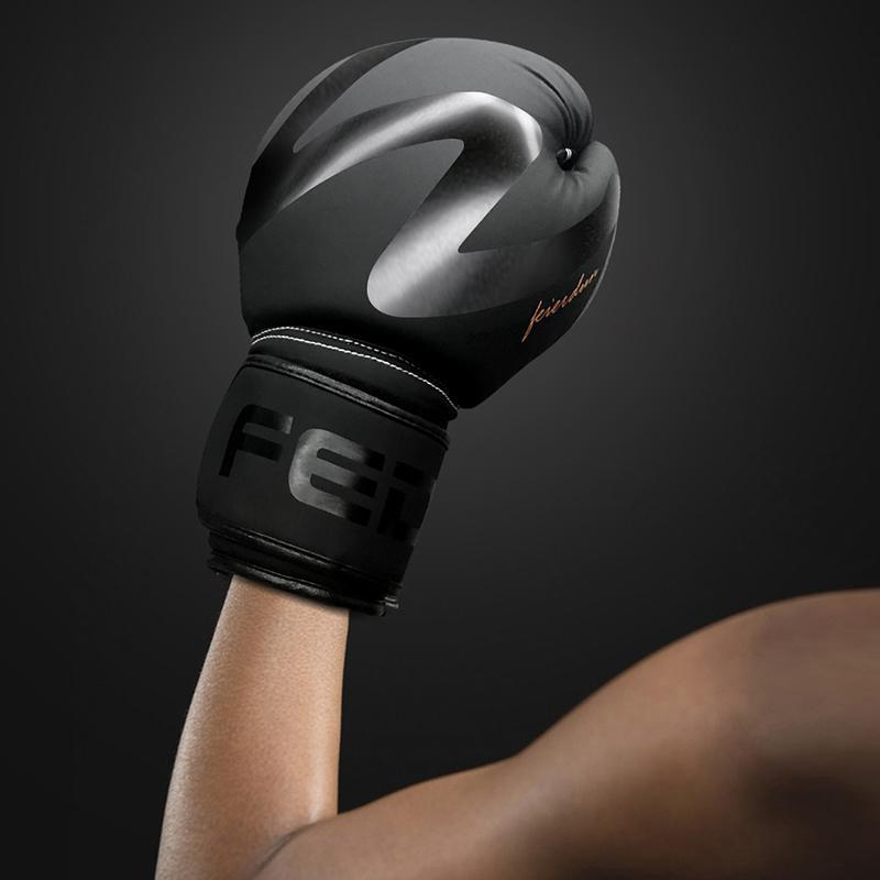 FEIERDUN: Boxing Gloves For Training-Cowhide Leather Mitts For Sparring,Kickboxin&Fighting-Great For Heavy Punch Bag