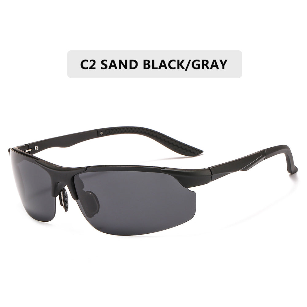 Today Only - Driving Polarized Sun Glasses Plastic Titanium  Frame Sports Anti-glare