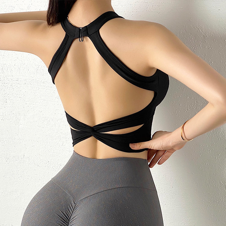 Sexy Sports Bra Mesh Vests