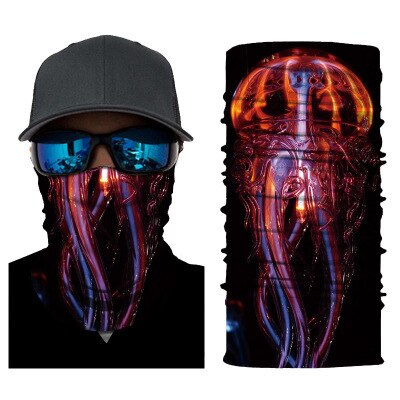 Today Only - 3D Character Breathable Cycling Mask Neck Gaiter-UV Protection