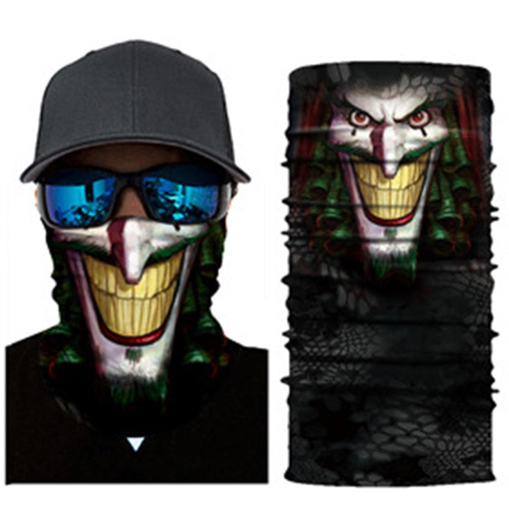 3D Character Breathable Cycling Mask Neck Gaiter-UV Protection