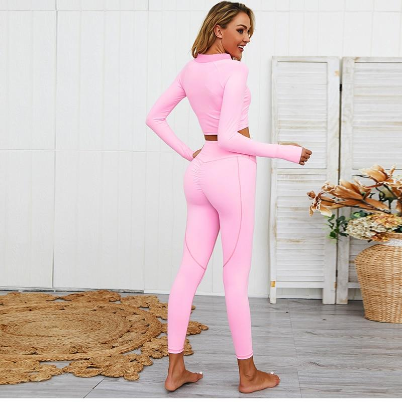 Long Sleeve Yoga Set
