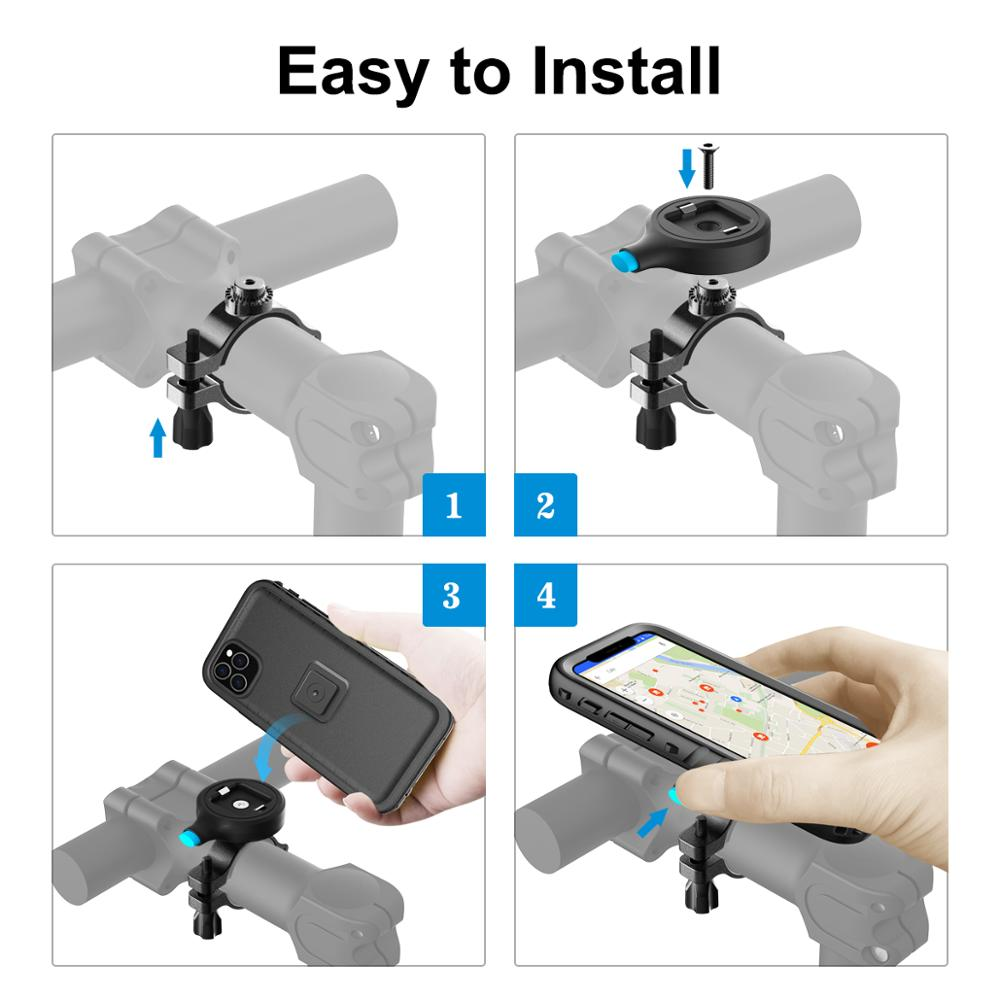 Bicycle Phone Holder For iPhone Samsung Universal Mobile