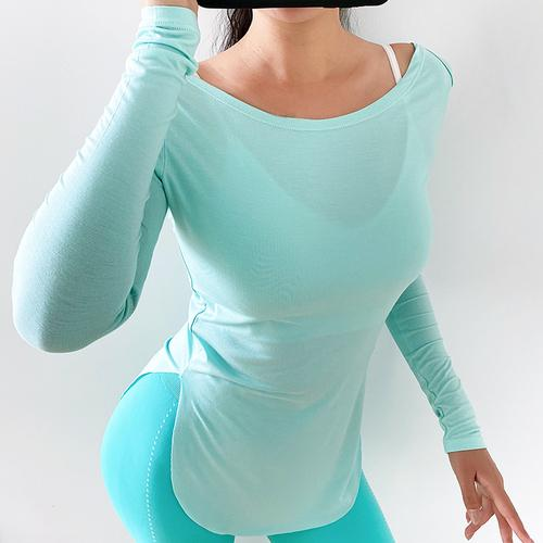 Light and Thin Feel Casual Yoga Long Sleeve