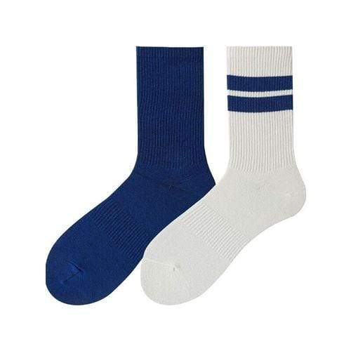Left and Right Asymmetric Neutral Leisure Sports Skateboard Socks