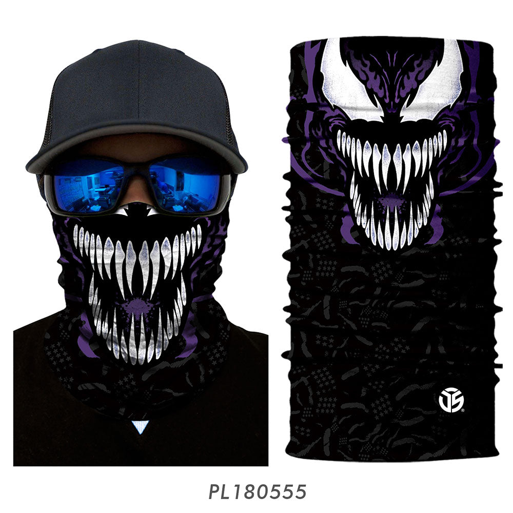 Today Only - 3D Character Sun UV Protection Cycling Mask Neck Gaiter