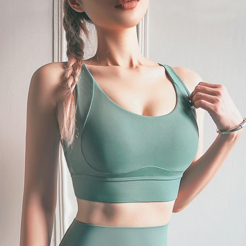 Buckleless Running Fitness Bra