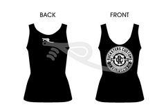 Crest Ladies Tank Black/White