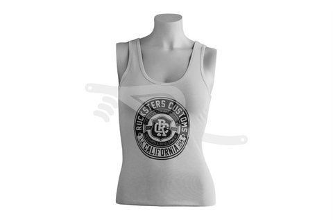 Crest Ladies Tank Gray/Black