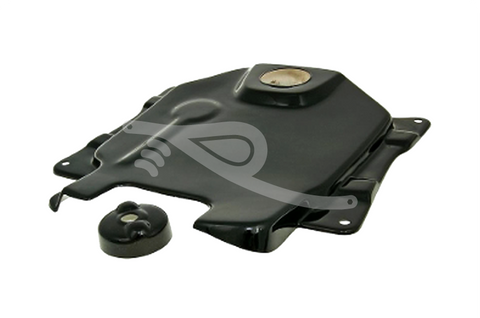 NCY Gas Tank Cover V2 Black