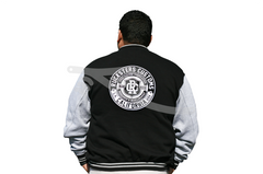 Crest Baseball Jacket Black/Gray