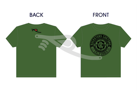 Rucksters Customs™ Crest T-Shirt Olive