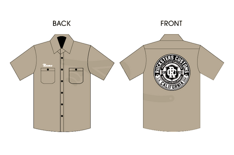 rPRO Crest Patch Work Shirt Tan