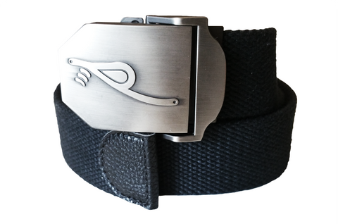 rPRO Embossed Military Belt Buckle Black