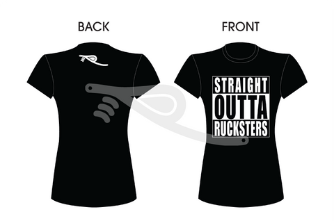Straight Outta Rucksters Ladies Tee