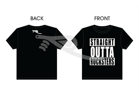 Straight Outta Rucksters Men's T-Shirt