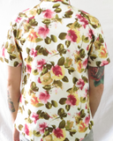 Yellow, Pink and Green Floral Shirt