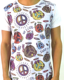Sweet Drug - Peace - Men's Graphic Crew Neck