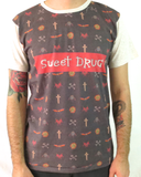 Sweet Drug Logo - Men's Crew Neck