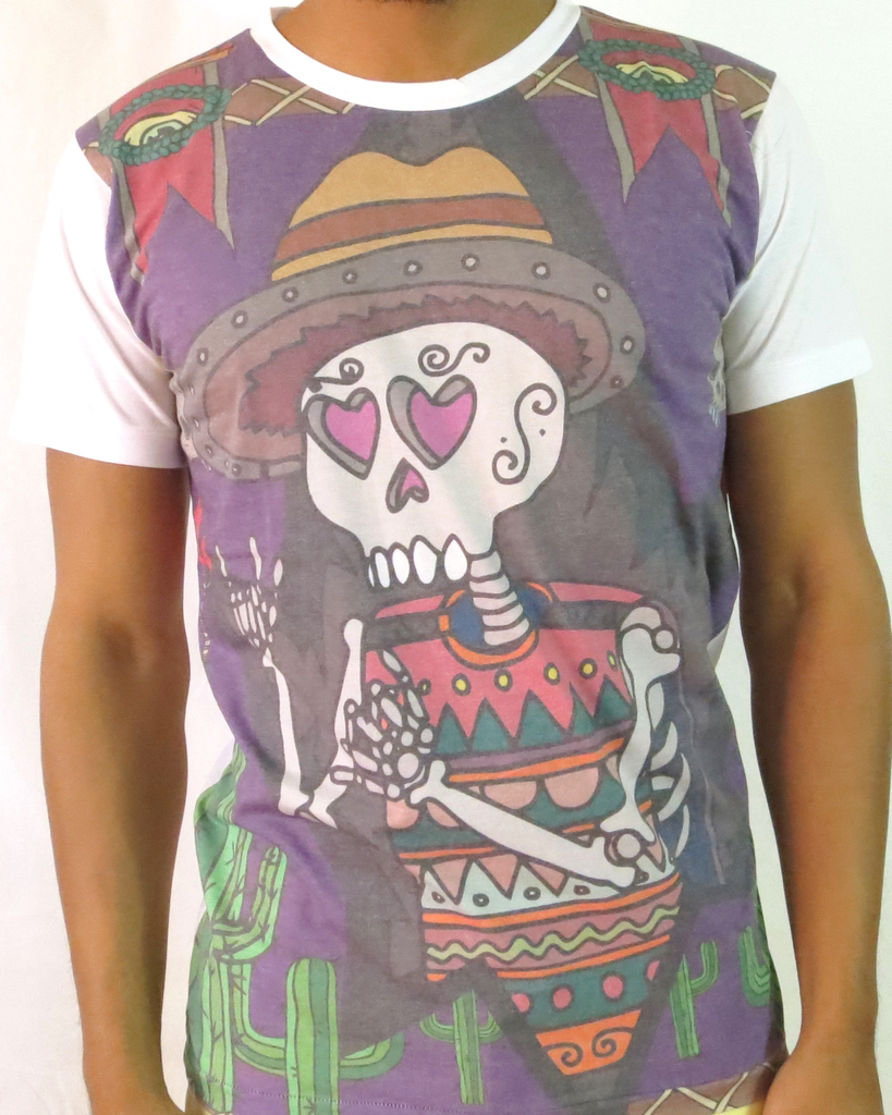 Sweet Drug - Muertos - Men's Graphic Crew Neck