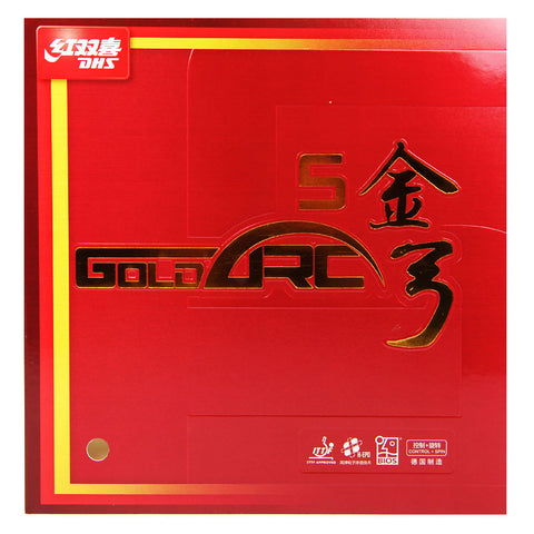 DHS GoldArc 5 rubber