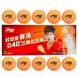 DHS D40+ *** table tennis balls - orange
