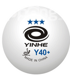 Yinhe 3 star balls Y40 ITTF approved